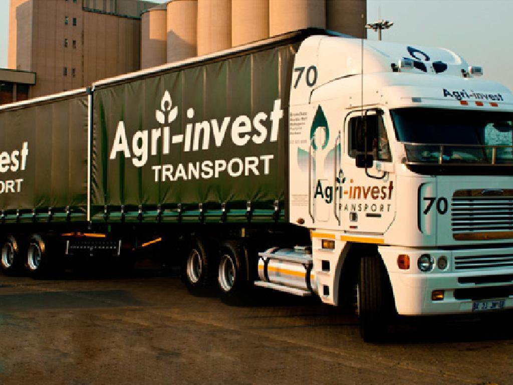 Agri-invest Truck Signage