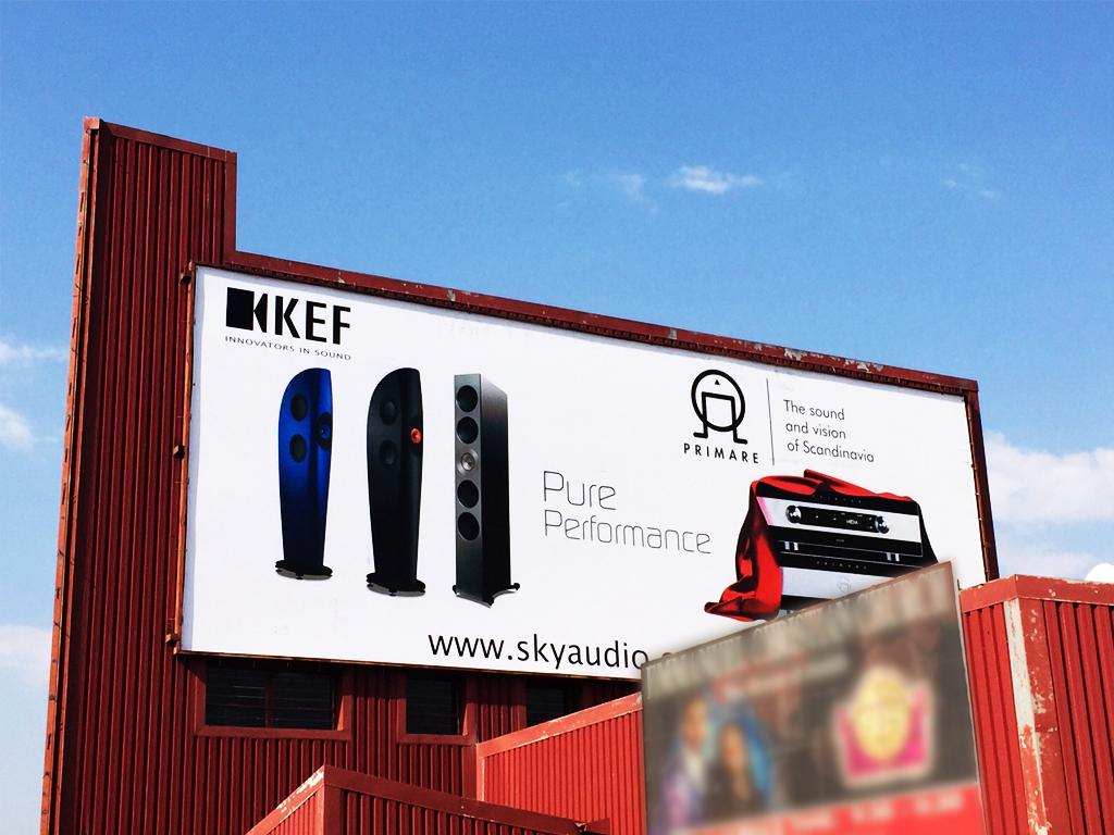 SkyAudio Billboard