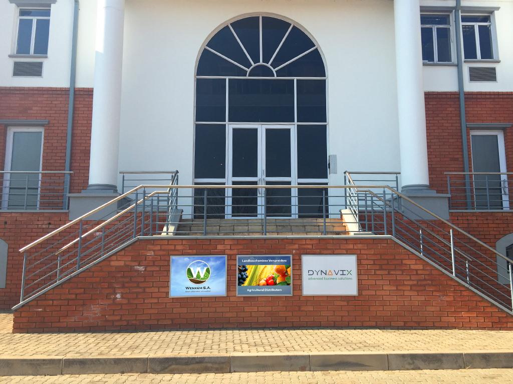 Wenkem Building Signage