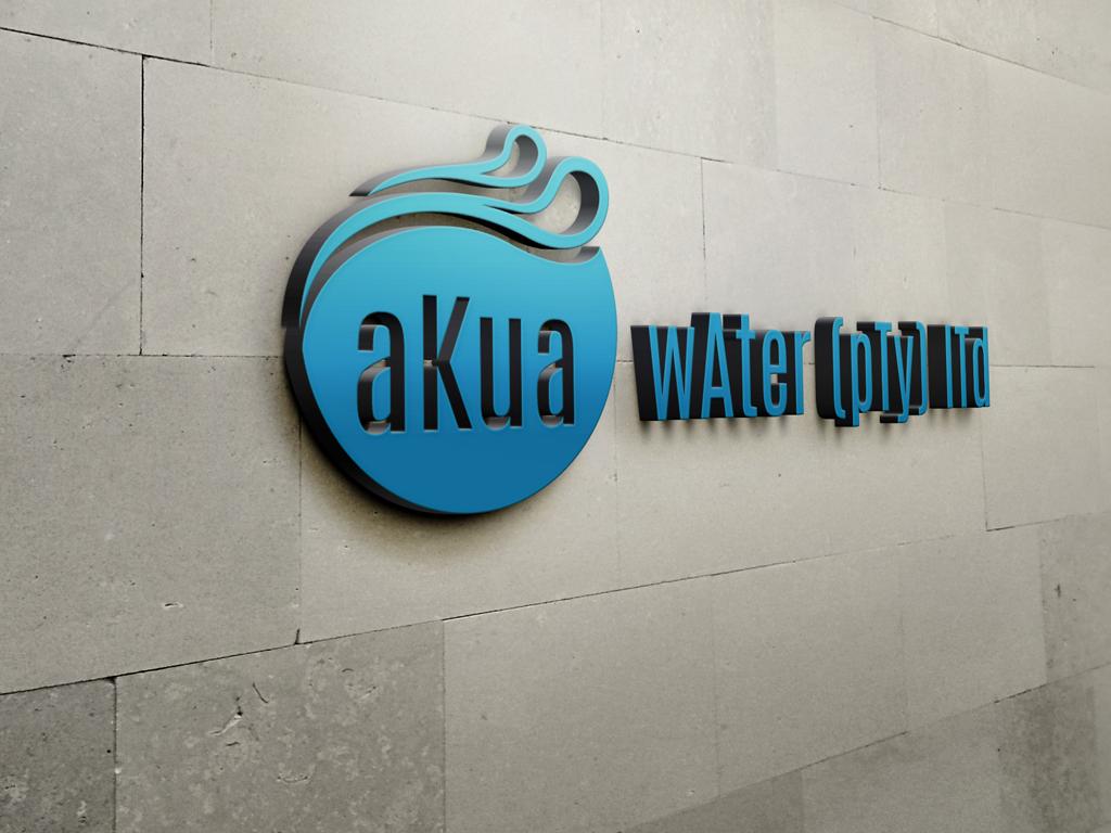 aKua wAter Sign
